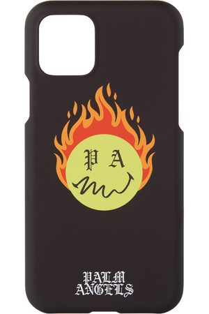 Palm Angels Smiley Edition Burning Head iPhone 11 Pro Case
