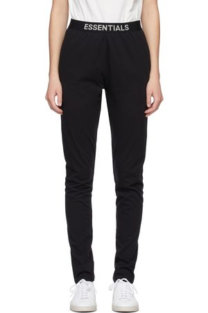 Essentials Black Jersey Lounge Pants