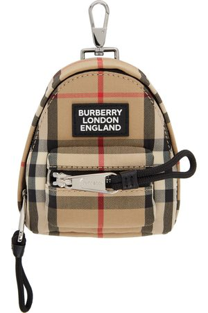 Burberry Vintage Check Backpack Keychain