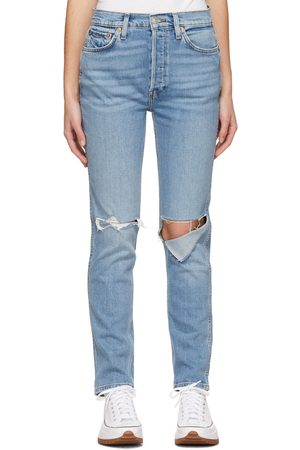 Re/Done 80s Slim Straight Jeans