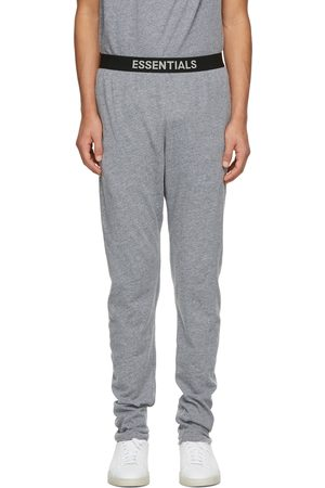 Essentials Grey Jersey Lounge Pants