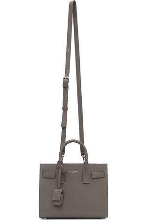 Saint Laurent Grey Nano Sac De Jour Tote