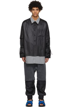 JERIH Double Layer Shirt