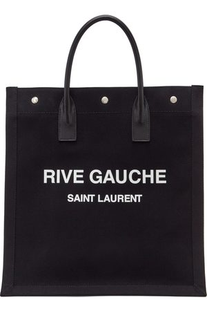 Women Tote Bags - Saint Laurent 'Rive Gauche' Shopping Tote