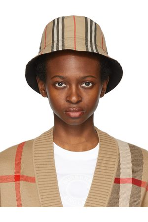 Burberry Reversible Icon Stripe Bucket Hat