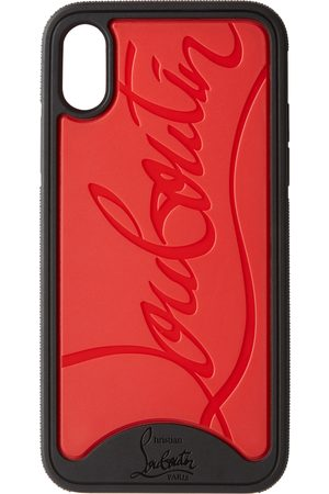 Christian Louboutin Black & Red Loubiphone Sneakers iPhone X/XS Case