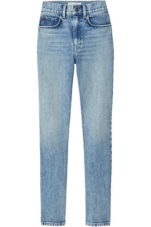 Lafayette 148 New York High-Rise Straight Jeans