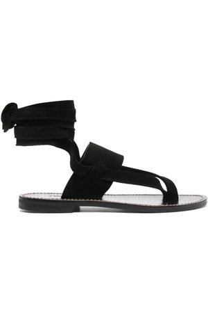 Twin-Set Leather-wrap sandals
