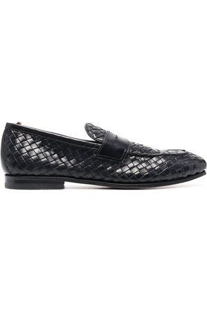 Officine creative Barona woven loafers