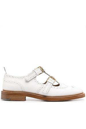 Thom Browne 2-Strap T-bar Mary Janes