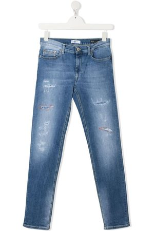Dondup TEEN mid-rise slim-fit jeans