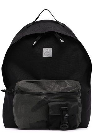 AAPE BY A BATHING APE Camouflage-print pocket backpack