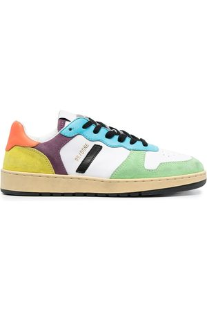 RE/DONE Colour-block low-top sneakers