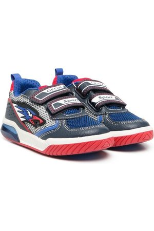 Geox Logo-print touch-strap trainers