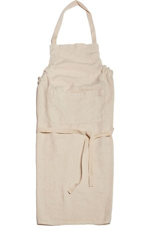 Once Milano Mid-length linen apron