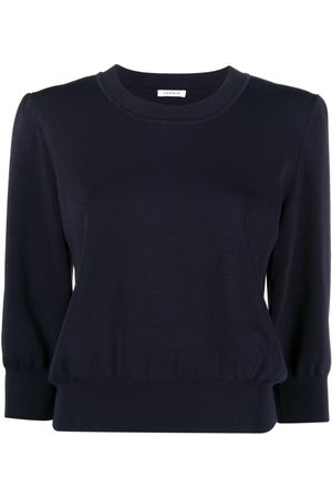 P.a.r.o.s.h. Round neck long-sleeved sweatshirt