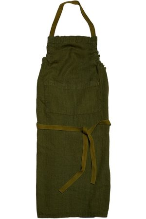 Once Milano Front-pouch linen apron