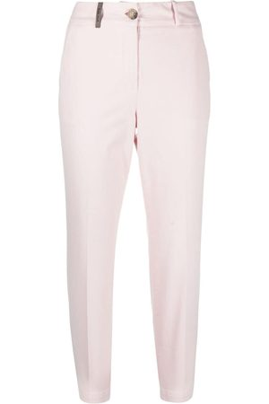 PESERICO SIGN Tailored cropped trousers
