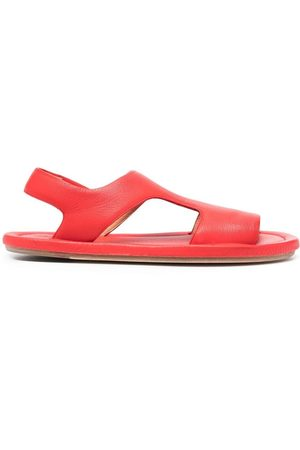 MARSÈLL Chunky-strap leather sandals