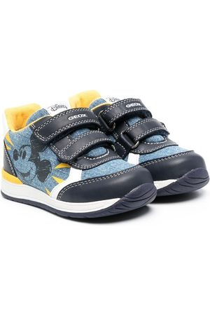 Geox Mickey Mouse-print trainers