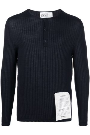 BALLANTYNE Ribbed-knit cashmere top