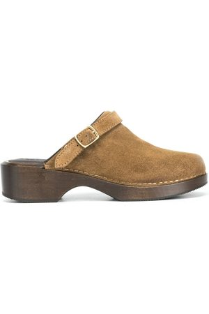 RE/DONE Buckle-detail slip-on clogs