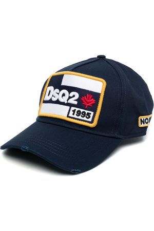 Dsquared2 Embroidered logo patch cap
