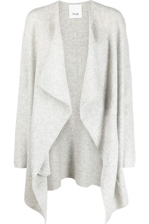 Allude Draped knitted kaftan