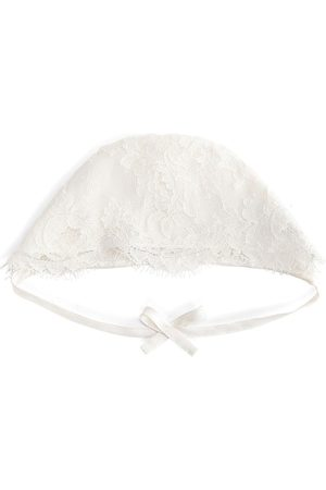 Dolce & Gabbana Bow detail lace hat