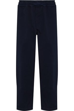 YMC Alva cropped loose-fit trousers