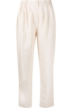 FORTE FORTE Relaxed fit linen trousers