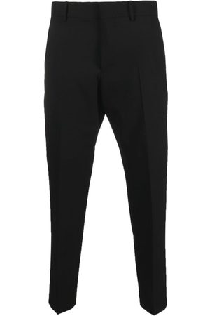 PT01 Tailored virgin wool cropped trousers