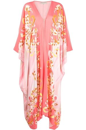 Emilio Pucci Lilly-print cover-up