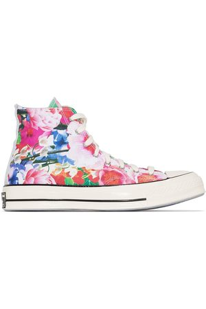 Converse Chuck 70 floral-print sneakers