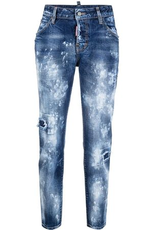 Dsquared2 Cool Girl paint-job jeans