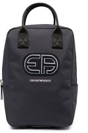 Emporio Armani Embroidered logo backpack