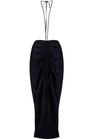DION LEE X Ramadan ruched gather tie skirt