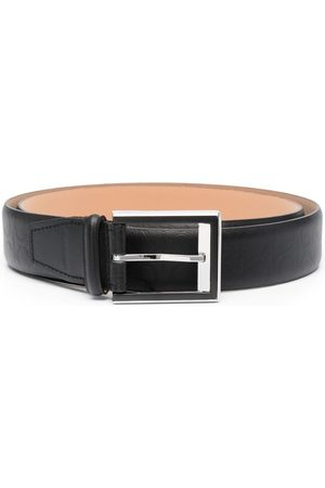 Calvin Klein Debossed monogram logo belt
