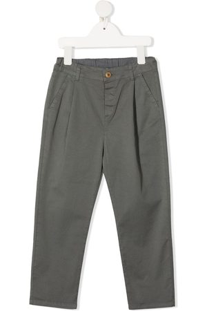 Zhoe & Tobiah Stretch-cotton straight-leg trousers