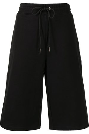 DION LEE Utility cotton track shorts
