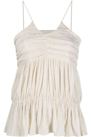 IRO Surry ruched camisole
