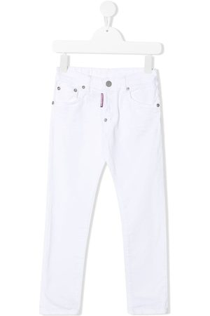 Dsquared2 Logo patch straight-leg jeans