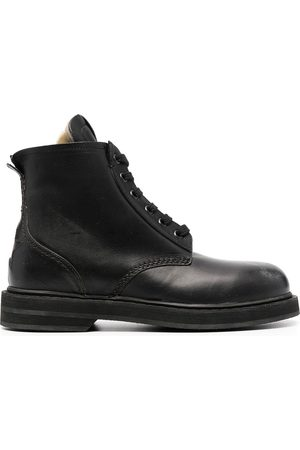 Golden Goose Leather lace-up boots