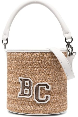 Brunello Cucinelli Woven bucket bag