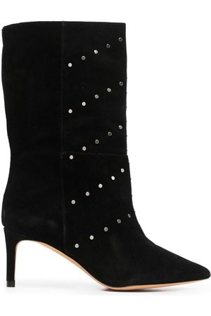 IRO Pointed suede boots
