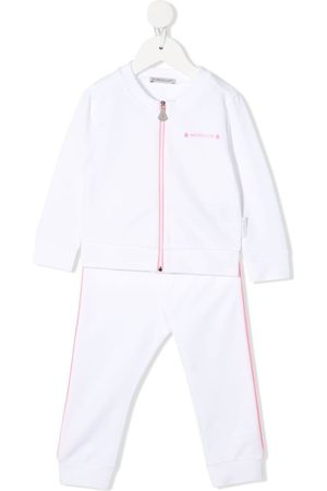 Moncler Piped trim tracksuit set
