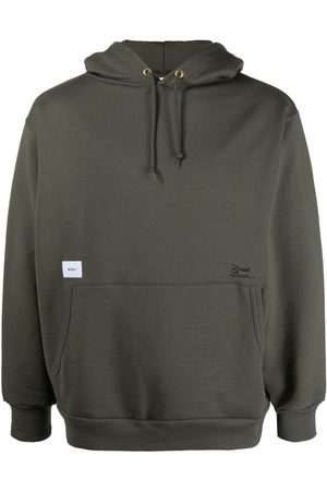 Wtaps Logo patch pullover hoodie
