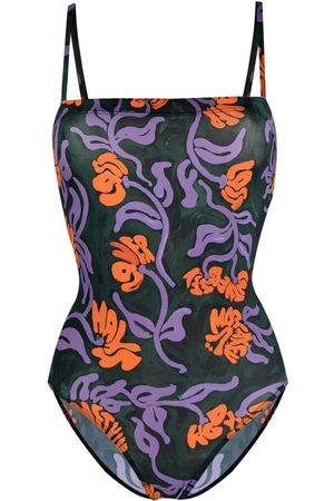 Marni Floral-print swimsuit