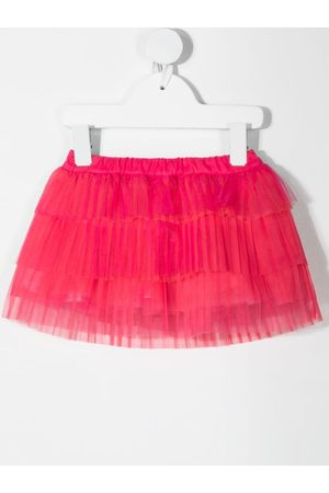 MISS BLUMARINE Mini ruffled-tutu skirt