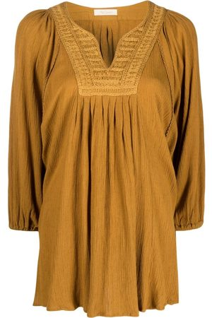 Mes Demoiselles Embroidered-detail tunic top